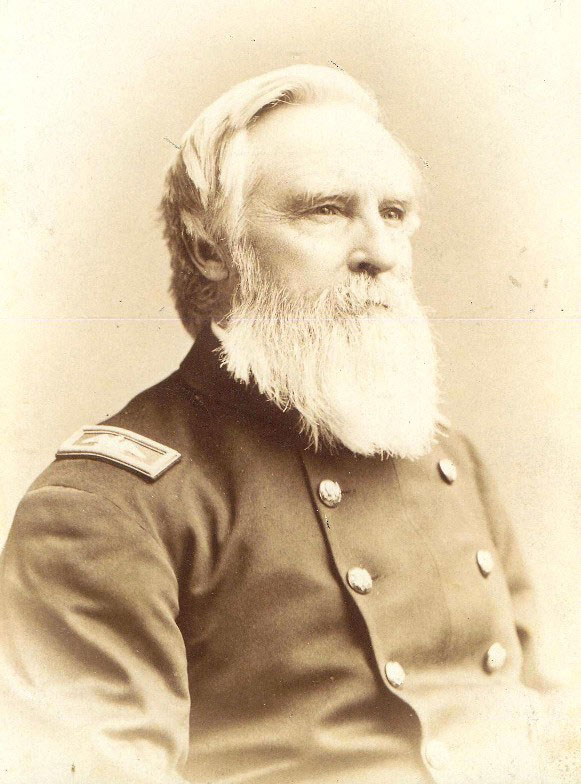 A photo of James Jaquess in military uniform.